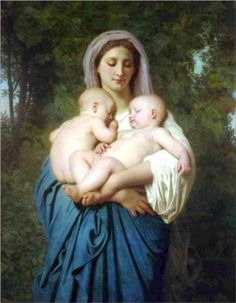 Bouguereau the best....I once did a self portrait in art school after this painting...