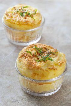 Pommes de terre soufflées