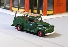 HO 1/87 Sylvan Scale Models # V-140 1941-47 Chevy Telephone Truck