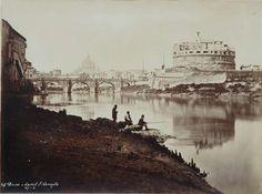 Rome, Castel S.Angelo e Tevere n.d.