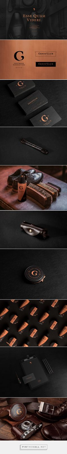 Gents Club Branding and Packaging by Tough Slate Design | Fivestar Branding Agency – Design and Branding Agency & Curated Inspiration Gallery