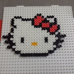 Hello Kitty hama beads by dspixelshop