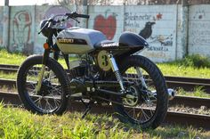 Suzuki Ax 100 Cafe Racer Pictures To Pin On Pinterest