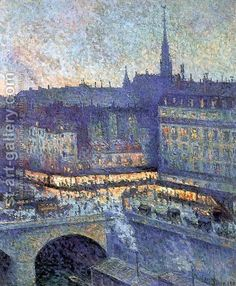 The Sainte Chapelle by Maximilien Luce