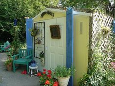 Superieur Garden Shed Makeover   Trellis !