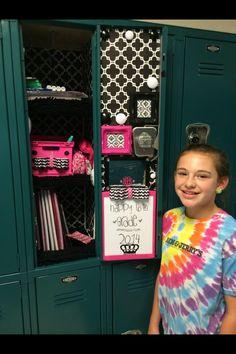 My 6th grade locker