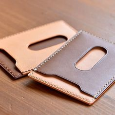 This is it man! The idea I've kept having in mind. Definitely knew it wasn't original. LOL. What's new. // Leather Card Holder