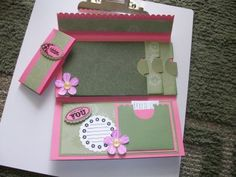 Scrapbooking and Stamping with Ms. Rae: Envelope Scrapbook - Gotta love it!