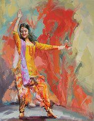 Punjab Art - 11 pakistan folk Punjab by Maryam Mughal