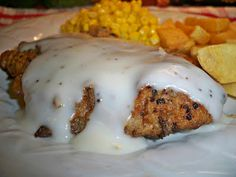 Gramma's in the kitchen: Chicken Fried Cube Steak w/ milk gravy