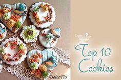 #COOKIE CONNECTION ALERT: Top 10 Cookies of the Week in today's Saturday Spotlight! Cookies pictured by Dolce Flo.