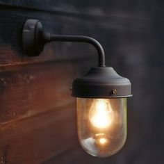 Espresso Barn Lamp Wall Light Garden Selectios NOTHS £50