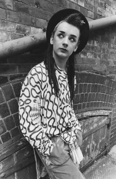 Boy George, I loved his music when I was younger.