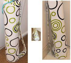 Love for sewing: Yoga Mat Bag Tutorial