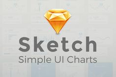 Simple UI Charts - Sketch by Loudoun Design Co. on @creativemarket