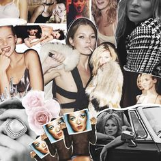 Kate Moss // Labyrinth of Collages #labyrinthofcollages