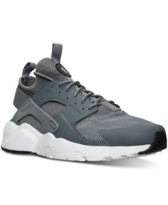 the best attitude f6a1e 8ff28 Nike Big Boys  Air Huarache Run Ultra Running Sneakers from Finish Line    Products   Pinterest   Running sneakers and Products