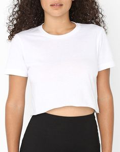 American Apparel Cropped Tee