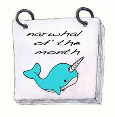 Narwhal of the month!!!!!!! want with a passion