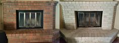 We had reddish brown, dingy- looking brick on our fireplace. We thought about stoning over the brick but the estimate we got was well over $1000.00. I found Brick-Anew online and decided to take a chance on it. I figured if it didn't work out we could go back to our original plan. I did the project myself and it turned out great! My husband loves our new fireplace and is glad we didn't spend the extra money it would have cost us to have it stoned. Color Used: Twilight Taupe