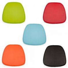 chaise daw piètement foncé charles eames style - polypropylène ... - Chaise Daw Charles Eames