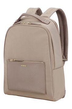 4477b90b55b9 Shop Zalia Backpack 35.8cm/14.1inch Beige in the official Samsonite Online  Store.