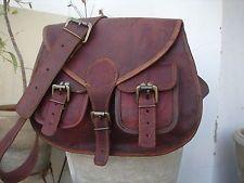 Echt Leder Rucksack umhängetasche vintage Backpack leather bag tasche beutel bag