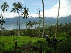 Views over Lake Maninjau, West Sumatra.