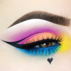Kat von D Pastel Goth palette  and Melt Cosmetics radioactive eyeshadow set