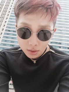 BTS Tweet - Rap Mon (selca) 150722 --- 레틸다2 -- [tran] Léthilda2  T/N: It's a combination of Léon and Mathilda, the main characters in the movie Léon: The Professional. Léon wears circle sunglasses and Mathilda wears a choker. ---  Trans cr; Ivy @ bts-trans