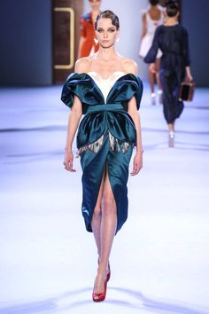 Ulyana Sergeenko Couture Spring 2014. Click through to see all of our favorite looks.