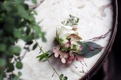 Such a lovely boutonniere by Sarah Ryhanen, via Flickr
