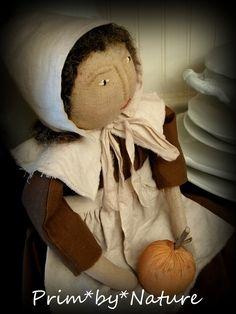 Primitive Pilgrim Doll