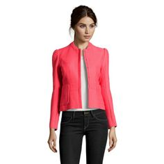 Maje Abitibi Jacket In Pink