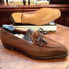 http://chicerman.com  mydayshoes:  Perfect Loafers by George Cleverley  #menshoes