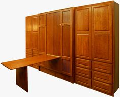 craft room fold down table | Murphy Beds - Click on the pictures below and a new window will open ...