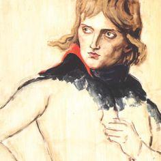 Elizabeth Peyton, Napoleon (After Louis David, Le General Bonaparte vers 1797), 2005. Unfinished: Thoughts Left Visible. New York: Metropolitan Museum of Art, 2016. 127. Print. #metbreuer #artthatinspiresme