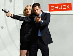 Chuck & Sarah in Chuck