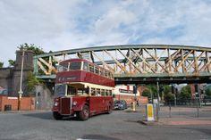 Leicester City Transport bus and Bowstring Bridge Busses, Leicester, Coaches, Foxes, Trains, 1960s, Transportation, Nostalgia, Bridge