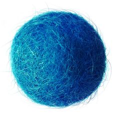 FELT BALL #12. intense blue ; sizes: 1cm, 1,5cm; 2cm, 3cm, 3,5cm, 4cm, 5cm .... by FELTSUPPLIER on Etsy