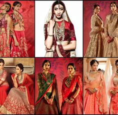 Types of Bridal style among Indian brides