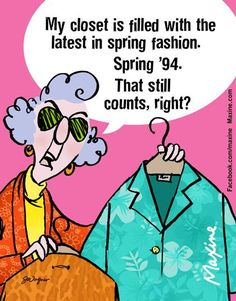 Image result for maxine on spring clothes