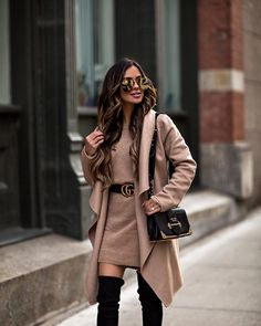 The best camel coats for fall on MiaMiaMine.com today (direct link in my bio). #fallfashion