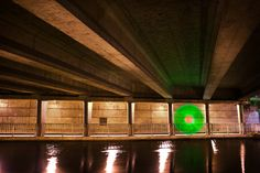 Striking Light Painting Photography by Nicolas Rivals Light Painting Photography, French Photographers, Behance, Architecture, Inspiration, Photography, Bridge, Water, Arquitetura