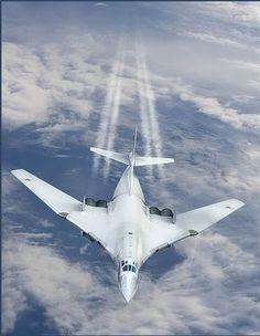 Russian TU-160 Bomber