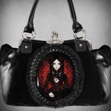 Angel Clothing, Gothic, Alternative, Steampunk and Fantasy Shop Black Handbags, Purses And Handbags, Gothic Fashion, Retro Fashion, Female Fashion, Gothic Mode, Gothic Lolita, Gothic Glam, Gothic Horror