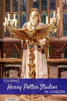 A visit to the Harry Potter Studios at Warner Bros. outside London is nothing but magic