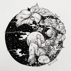 Doodle art sketches how to draw 19 ideas Black And White Art Drawing, Black Ink Art, Black Love Art, Space Drawings, Art Drawings, Ink Illustrations, Illustration Art, Astronaut Drawing, Astronaut Tattoo