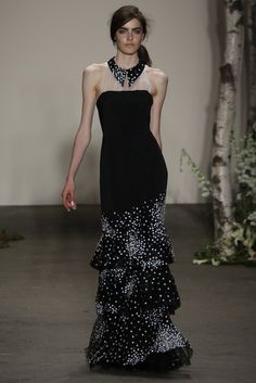 Honor RTW Spring 2014. Without the neck thing it's beautiful.