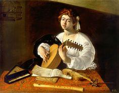 Lute player, ca.1596, New York, Metropolitan Museum of Art
